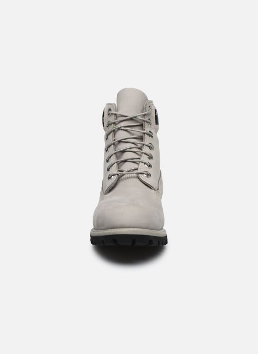 Bottines et boots Timberland 6 in Premium Boot Gris vue portées chaussures