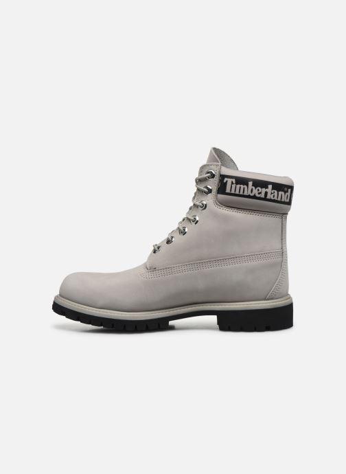 Stivaletti e tronchetti Timberland 6 in Premium Boot Grigio immagine frontale