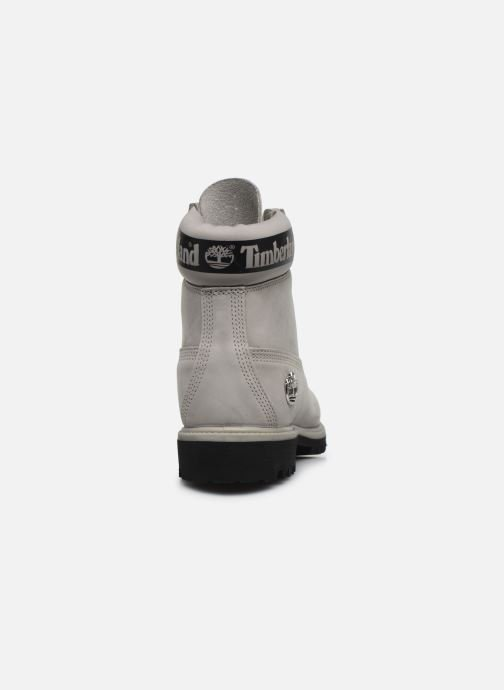 Ankle boots Timberland 6 in Premium Boot Grey view from the right