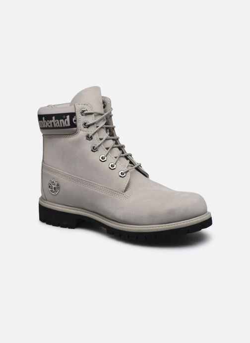 Ankle boots Timberland 6 in Premium Boot Grey detailed view/ Pair view
