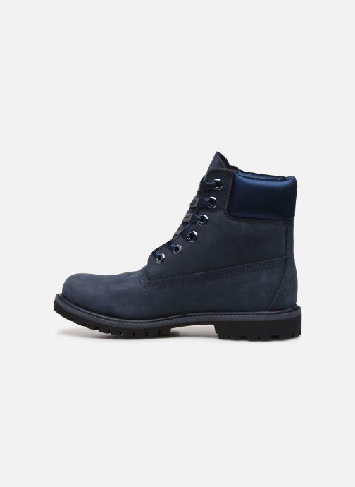Bottines et boots Timberland 6in Premium WP Boot L/F Bleu vue face