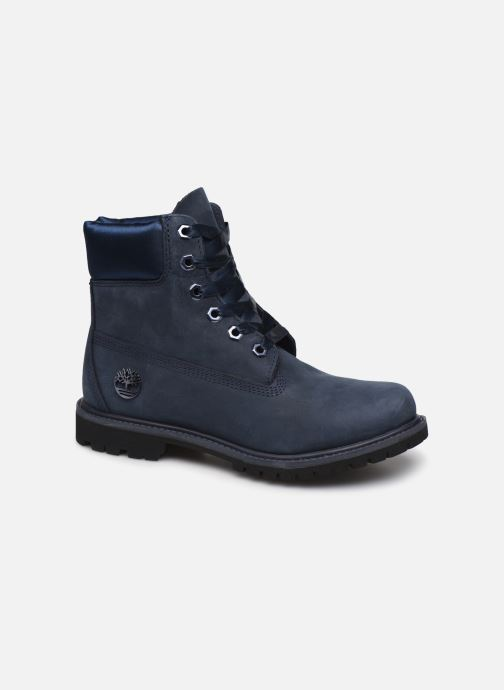 Bottines et boots Timberland 6in Premium WP Boot L/F Bleu vue détail/paire