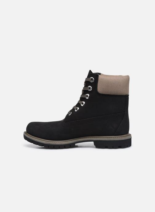 Boots en enkellaarsjes Timberland 6in Premium WP Boot L/F Zwart voorkant