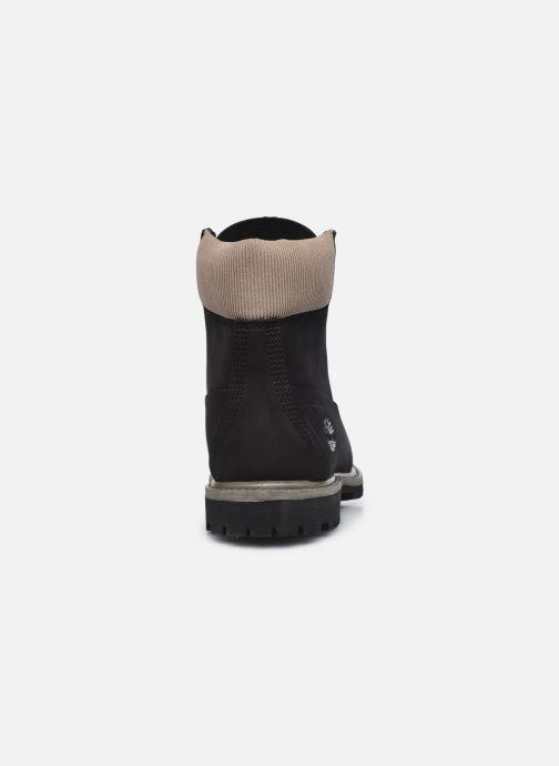 Boots en enkellaarsjes Timberland 6in Premium WP Boot L/F Zwart rechts