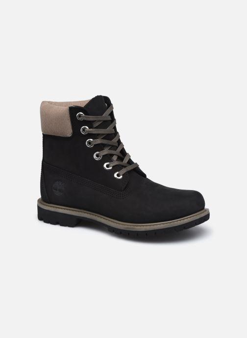 Boots en enkellaarsjes Timberland 6in Premium WP Boot L/F Zwart detail