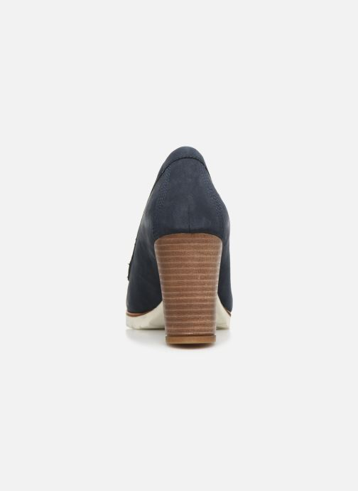 High heels Timberland Leslie Anne Mocassin Pump Blue view from the right