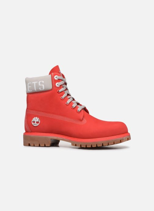 Bottines et boots Timberland 6 in Premium Boot Rouge vue derrière