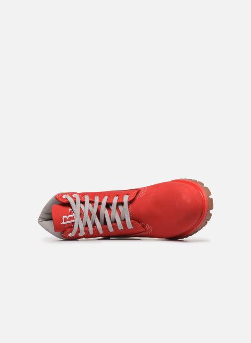 Bottines et boots Timberland 6 in Premium Boot Rouge vue gauche