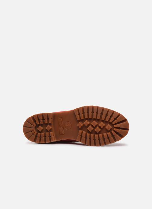 Bottines et boots Timberland 6 in Premium Boot Rouge vue haut
