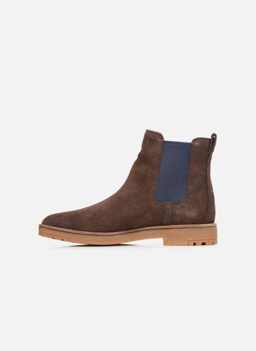 Bottines et boots Timberland Folk Gentleman Chelsea Marron vue face