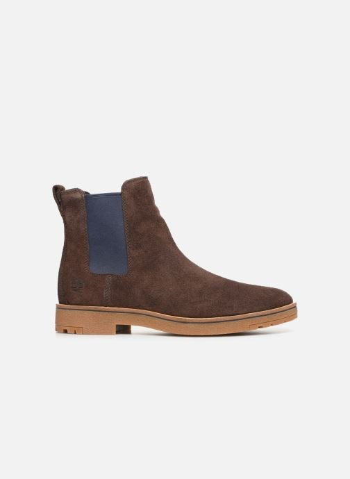 Bottines et boots Timberland Folk Gentleman Chelsea Marron vue derrière