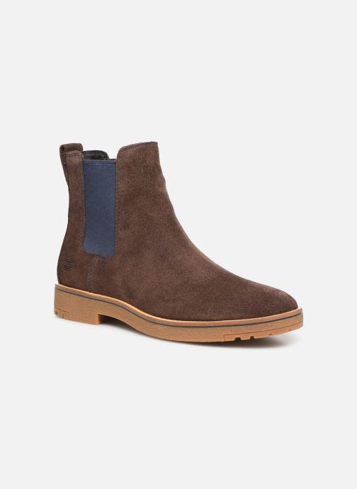 Bottines et boots Timberland Folk Gentleman Chelsea Marron vue détail/paire