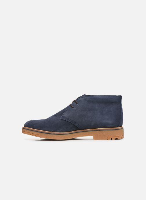 Bottines et boots Timberland Folk Gentleman Chukka Bleu vue face