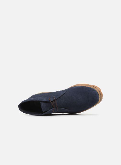 Bottines et boots Timberland Folk Gentleman Chukka Bleu vue gauche