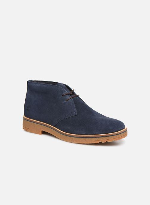 Bottines et boots Timberland Folk Gentleman Chukka Bleu vue détail/paire