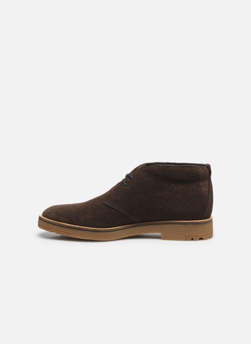 Bottines et boots Timberland Folk Gentleman Chukka Marron vue face
