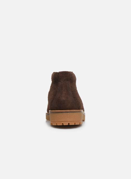 Bottines et boots Timberland Folk Gentleman Chukka Marron vue droite