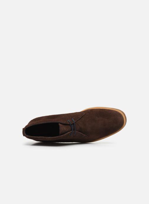 Bottines et boots Timberland Folk Gentleman Chukka Marron vue gauche