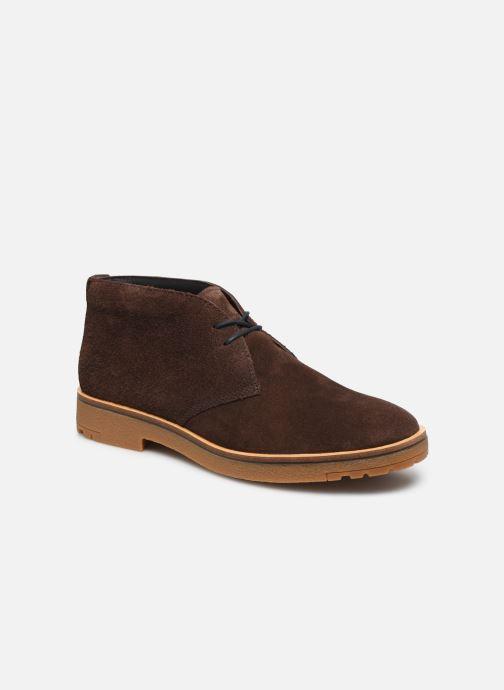 Bottines et boots Timberland Folk Gentleman Chukka Marron vue détail/paire