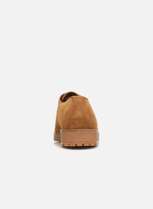 Zapatos con cordones Timberland Folk Gentleman Ox Marrón vista lateral derecha