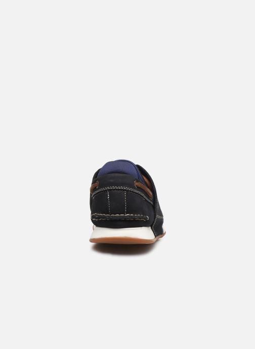 Zapatos con cordones Timberland Heger's Bay 3 Eye Boat Azul vista lateral derecha