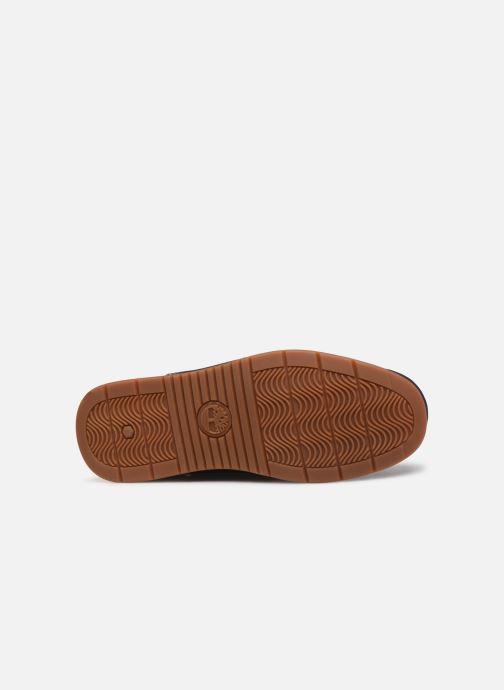 Chaussures à lacets Timberland Heger's Bay 3 Eye Boat Bleu vue haut