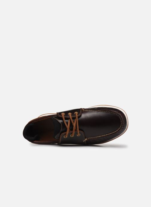 Chaussures à lacets Timberland Heger's Bay 3 Eye Boat Marron vue gauche