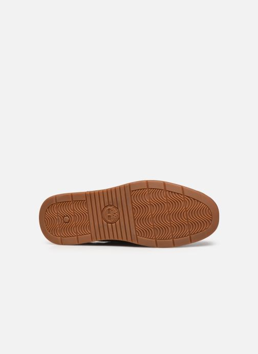 Chaussures à lacets Timberland Heger's Bay 3 Eye Boat Marron vue haut