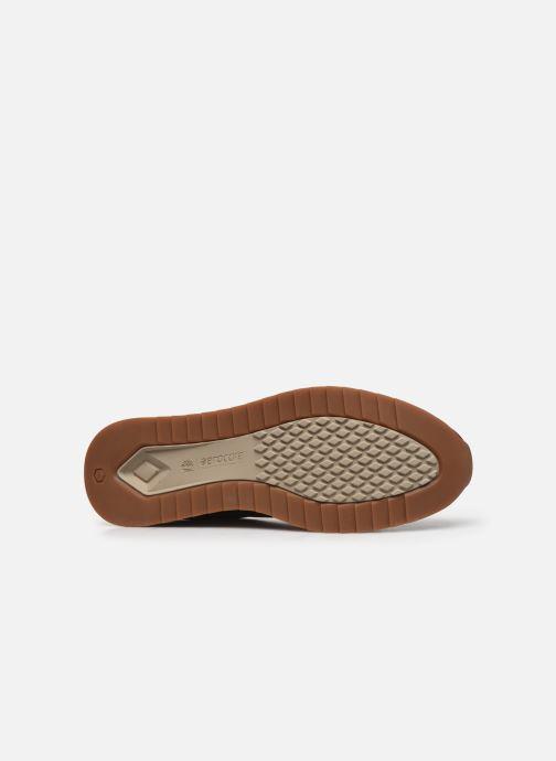 Baskets Timberland Madaket Leather Sneaker Marron vue haut