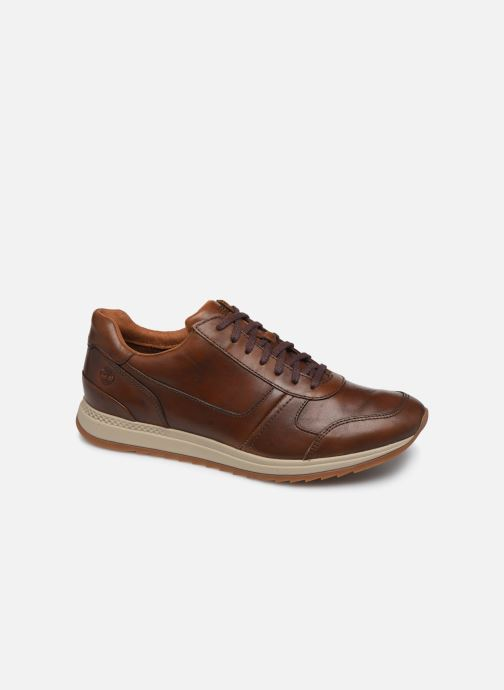 Trainers Timberland Madaket Leather Sneaker Brown detailed view/ Pair view