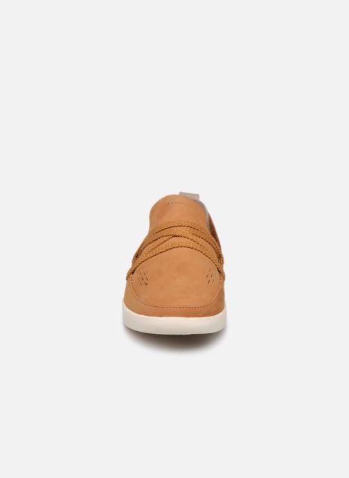 Mocassins Timberland Project Better Side Vent Slip On Marron vue portées chaussures