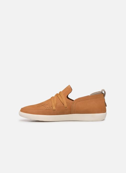 Mocassins Timberland Project Better Side Vent Slip On Bruin voorkant