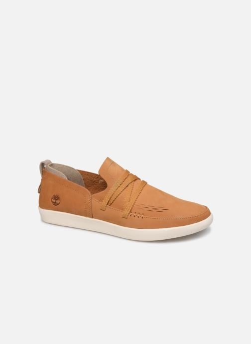 Mocassins Timberland Project Better Side Vent Slip On Bruin detail
