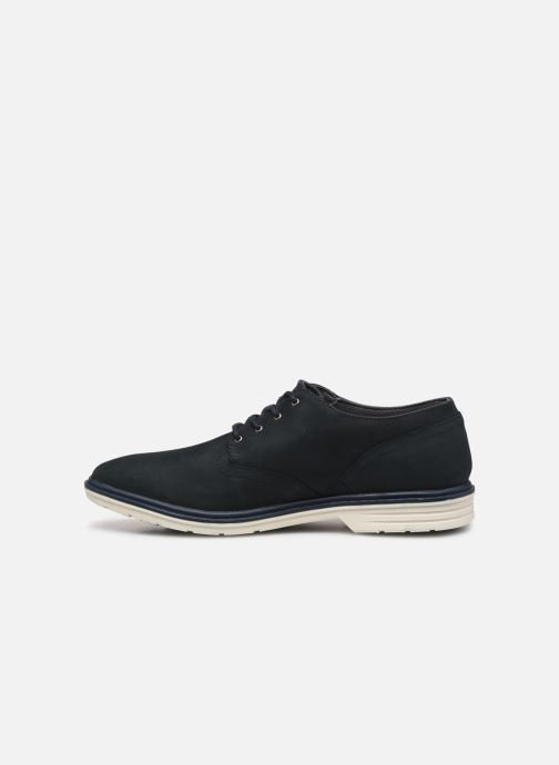 Lace-up shoes Timberland Sawyer Lane Waterproof Oxford Black front view
