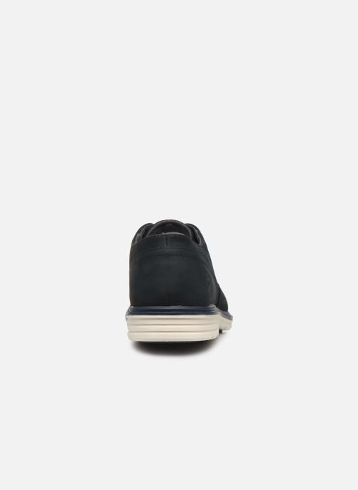 Lace-up shoes Timberland Sawyer Lane Waterproof Oxford Black view from the right