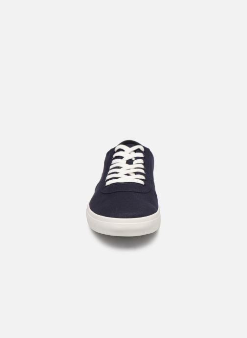 Baskets Timberland Union Wharf Oxford Bleu vue portées chaussures