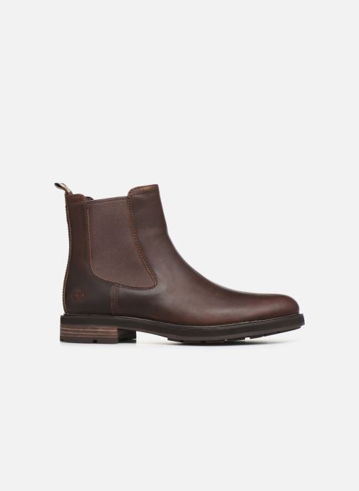 Ankle boots Timberland Windbucks Chelsea Brown back view