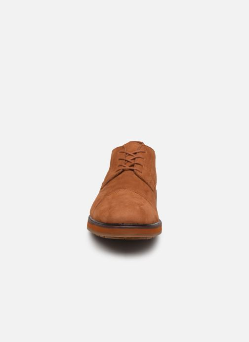 Lace-up shoes Timberland Windbucks CT Ox NWP Brown model view