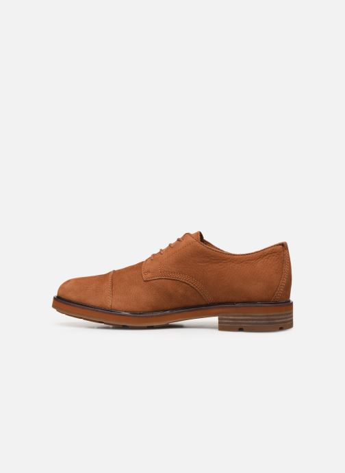 Lace-up shoes Timberland Windbucks CT Ox NWP Brown front view