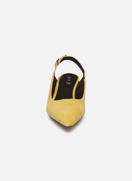 Escarpins Shoe the bear HAYDEN SLINGBACK S Jaune vue portées chaussures