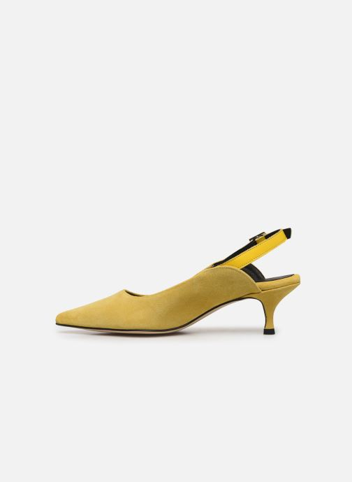 Escarpins Shoe the bear HAYDEN SLINGBACK S Jaune vue face
