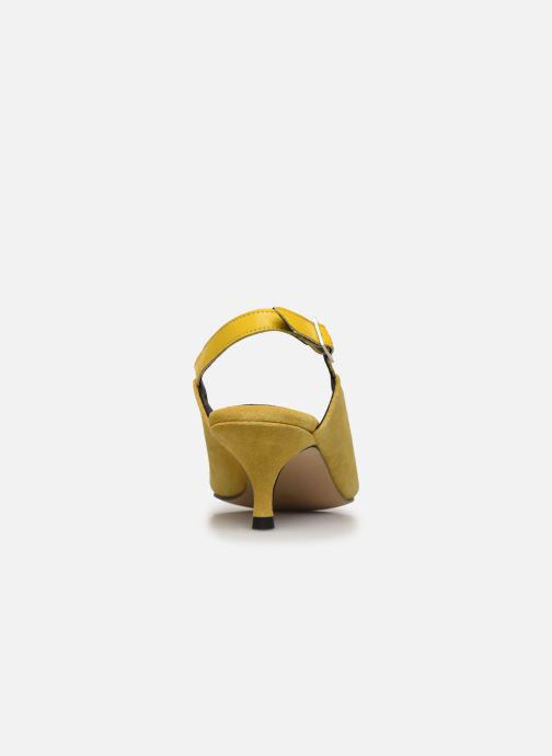 Escarpins Shoe the bear HAYDEN SLINGBACK S Jaune vue droite