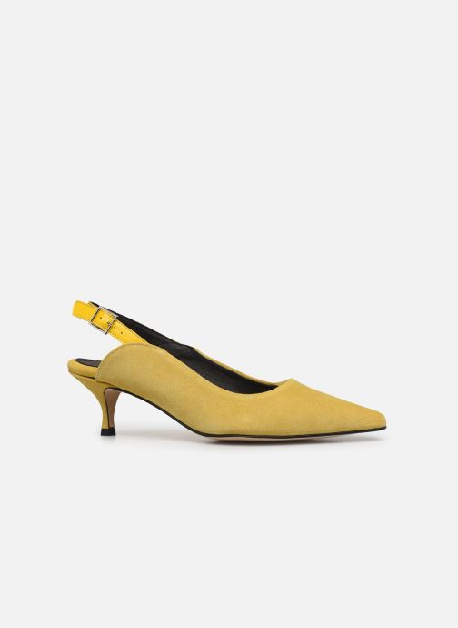 Zapatos de tacón Shoe the bear HAYDEN SLINGBACK S Amarillo vistra trasera