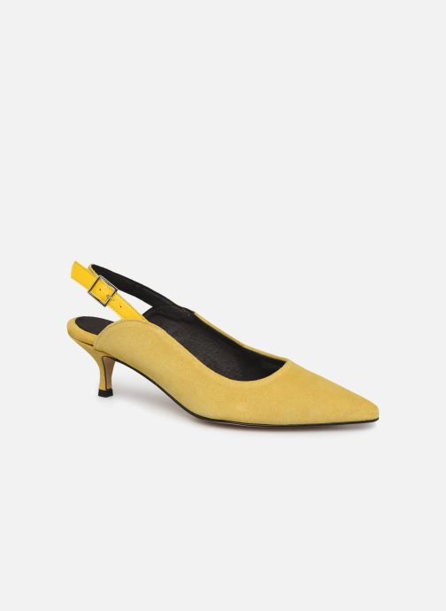 Escarpins Shoe the bear HAYDEN SLINGBACK S Jaune vue détail/paire