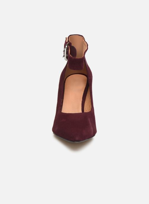 Escarpins Shoe the bear JANE ANKLE S Bordeaux vue portées chaussures