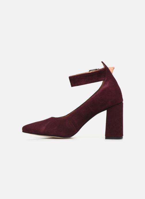 Escarpins Shoe the bear JANE ANKLE S Bordeaux vue face