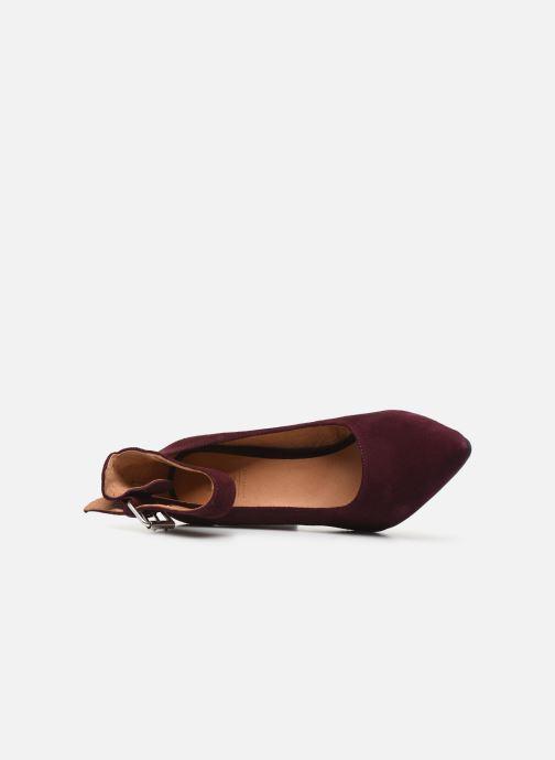 Escarpins Shoe the bear JANE ANKLE S Bordeaux vue gauche