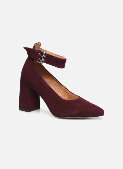 Escarpins Shoe the bear JANE ANKLE S Bordeaux vue détail/paire