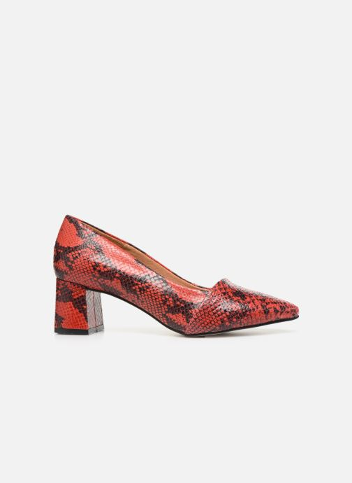 Pumps Shoe the bear ALLISON SNAKE Rood achterkant