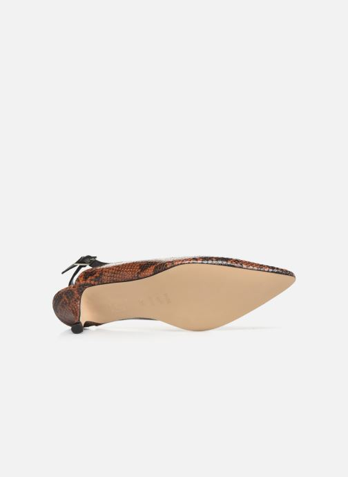 Pumps Shoe the bear HAYDEN SLINGBACK SNAKE Bruin boven